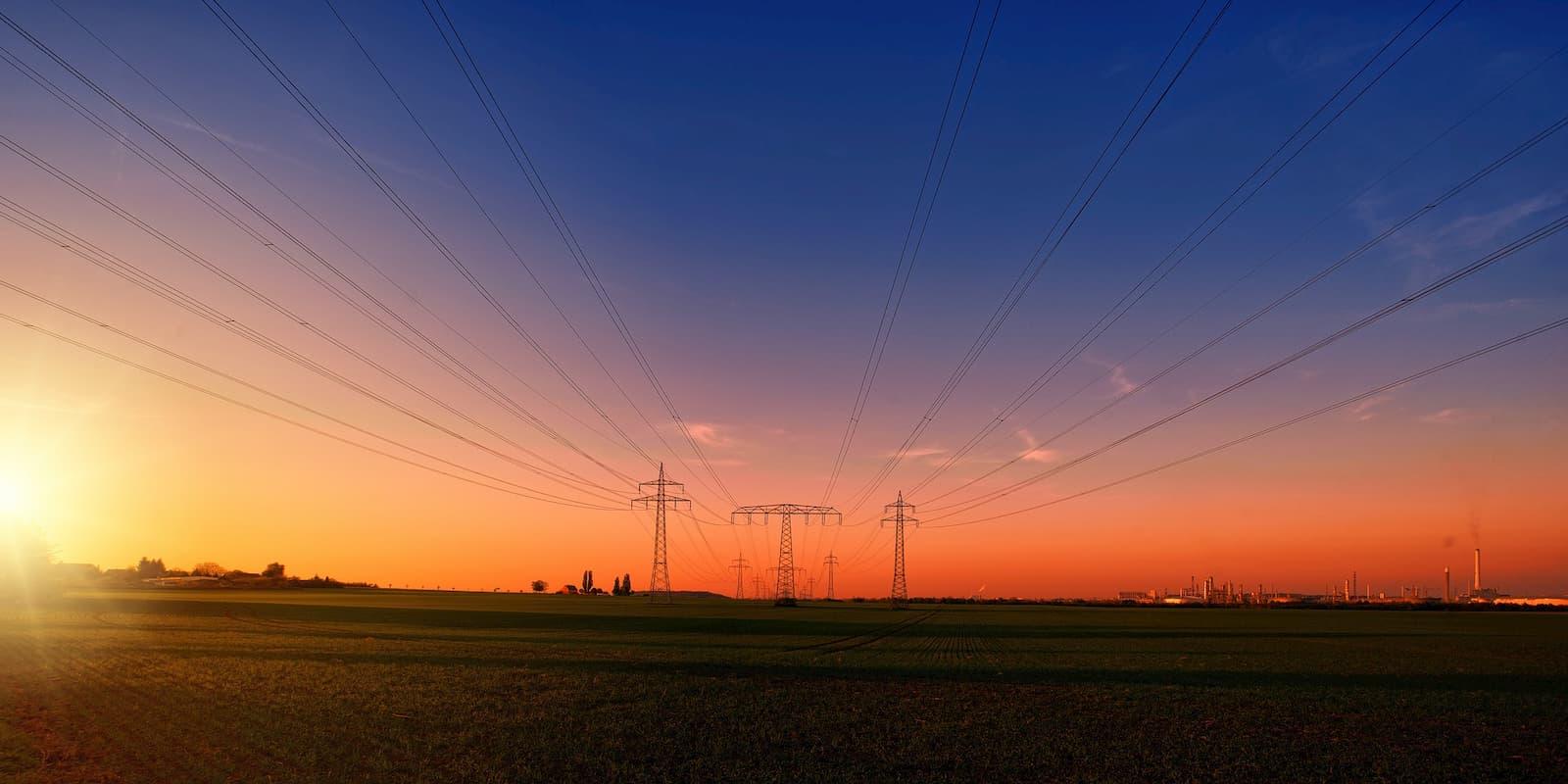 Alambre para garantizar el suministro eléctrico